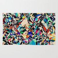 kandinsky Area & Throw Rugs featuring Harley by Glanoramay