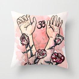 Self Growth Throw Pillow