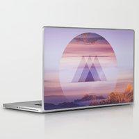 spires Laptop & iPad Skins featuring Tri-Spires by Adam Egginton