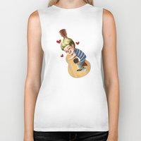 niall Biker Tanks featuring Niall LOVE by . . x