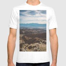 Joshua Tree National Park IV MEDIUM Mens Fitted Tee White