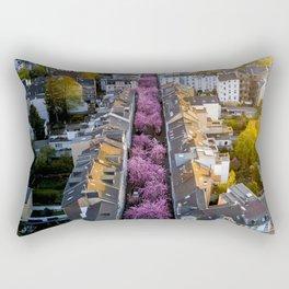 Colorful Street Rectangular Pillow