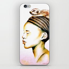 Zulu Woman iPhone Skin