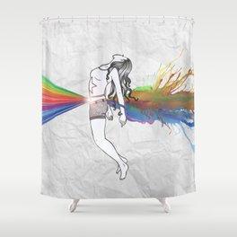 I Am Colour Shower Curtain