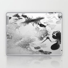 black and white floc Laptop & iPad Skin
