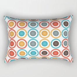 Rings and balls Rectangular Pillow