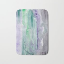 25   190907   Watercolor Abstract Painting Bath Mat