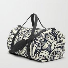 car doodle 1 Duffle Bag