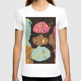Power of Girls Drawing T-shirt