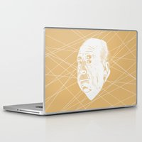 hitchcock Laptop & iPad Skins featuring Hitchcock Web by FSDisseny