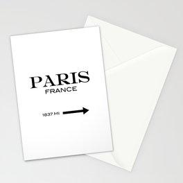 Paris - France Stationery Cards