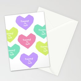 Feminist heart Stationery Cards