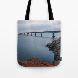 Confederation Twilight Bridge Tote Bag