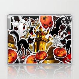 Halloween Spooky Cartoon Saga Laptop & iPad Skin