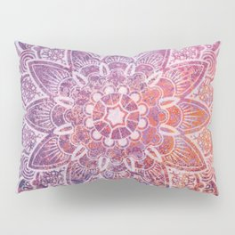 Large Mandala Pillow Sham