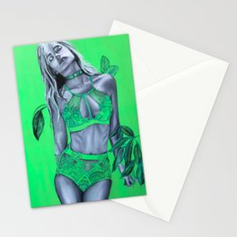 La Séductrice Verte Stationery Cards