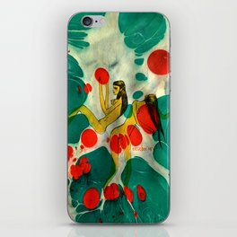 Marbling illustrated iPhone Skin