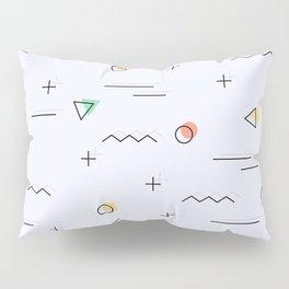 Memphis geometrical cool patter Pillow Sham