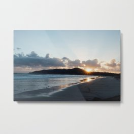 Sunrise over the cape  Metal Print