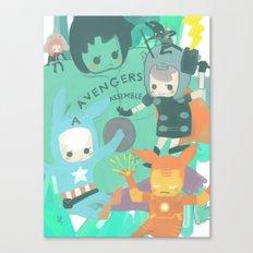 Avengers Assemble. Canvas Print