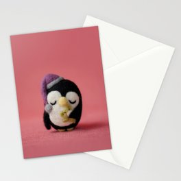 Muffy the penguin Stationery Cards