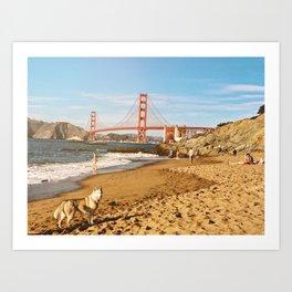 Sign of San Francisco Art Print