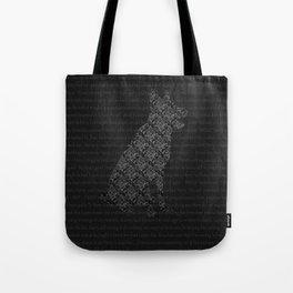 Marauders-Padfoot Tote Bag