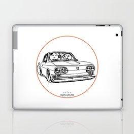 Crazy Car Art 0089 Laptop & iPad Skin