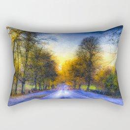 Greenwich Park London Art Rectangular Pillow