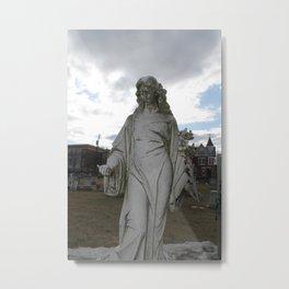 Augusta Bitner Grave Metal Print