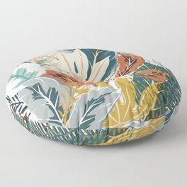Tropical Wild Jungle Floor Pillow
