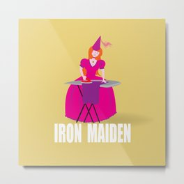 IRON MAIDEN Metal Print