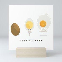 Eggvolution Mini Art Print