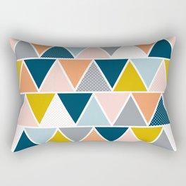 Triangulum Retreat Rectangular Pillow