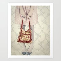 hello, darling.  Art Print