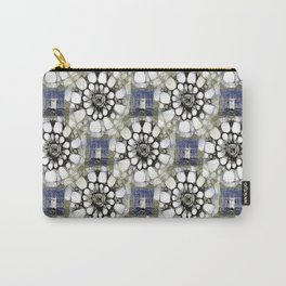 Scribbled Pattern Carry-All Pouch