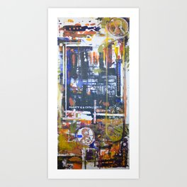 poverty is a catalyst Art Print