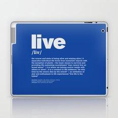 definition LLL - Live 6 Laptop & iPad Skin