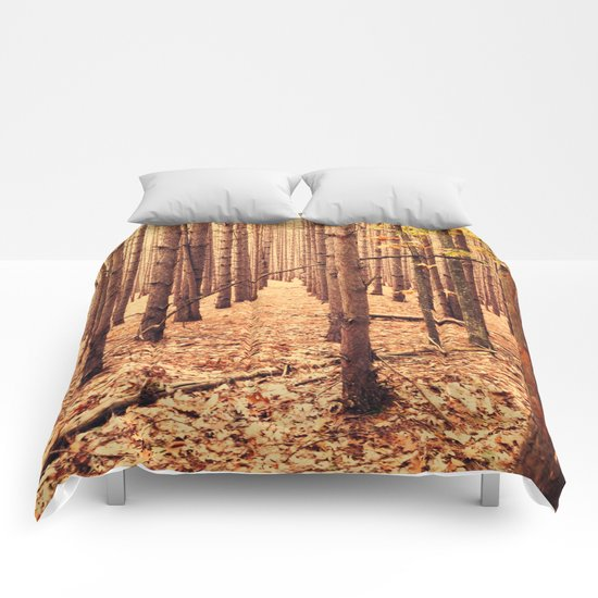 A Cathedral of Trees Comforters