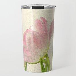 Posterised petals Travel Mug