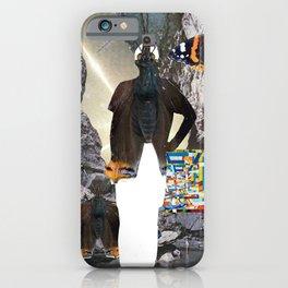 HuWayGo - collab collage iPhone Case