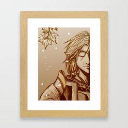 Forgotten Hero Framed Art Print
