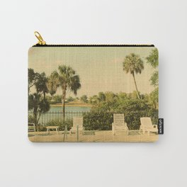 Lolita's Poolside Vacation - Beach Art Carry-All Pouch