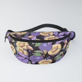Purple plum garden. Fanny Pack