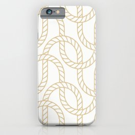 Marina Gold iPhone Case