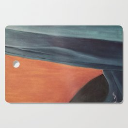 Hill and the sea Cutting Board