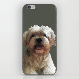 Shih tzu Low Poly iPhone Skin