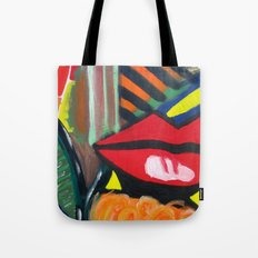 A Kiss Tote Bag