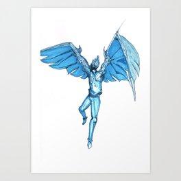 Howl's Angel Art Print