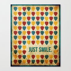 Just Smile. Canvas Print